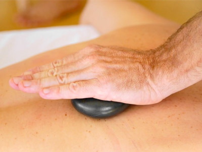 Video thumbnail: a massage stone in use