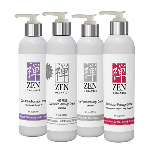 Zen Organics Massage Cream